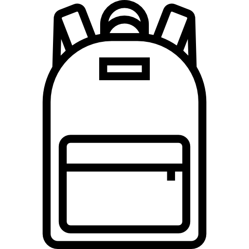 Backpack Icons.