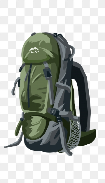 Backpack PNG Images.