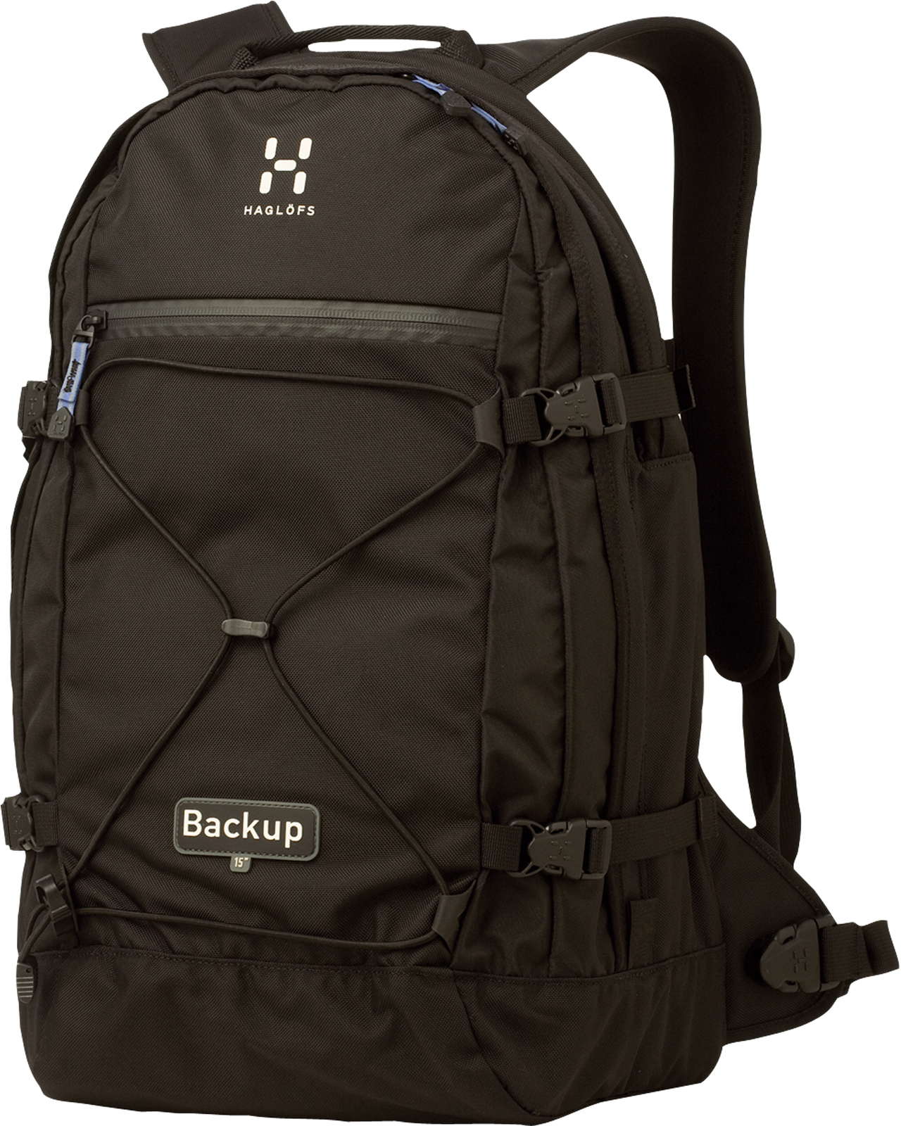 Laptop backpack 15 inch PNG Image.