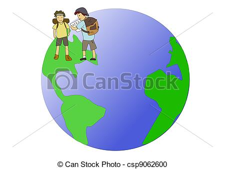 Backpackers Clipart and Stock Illustrations. 17,148 Backpackers.