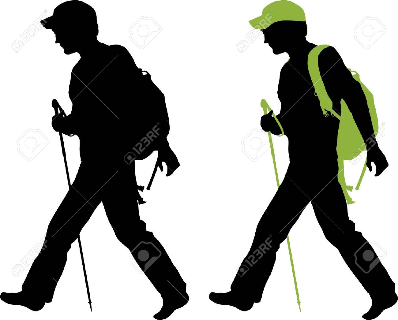 5,201 Backpacker Stock Vector Illustration And Royalty Free.