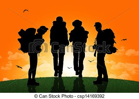 Backpacker Clipart and Stock Illustrations. 17,148 Backpacker.