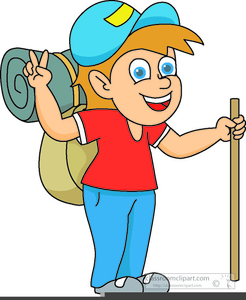 Backpacking Clipart Free.