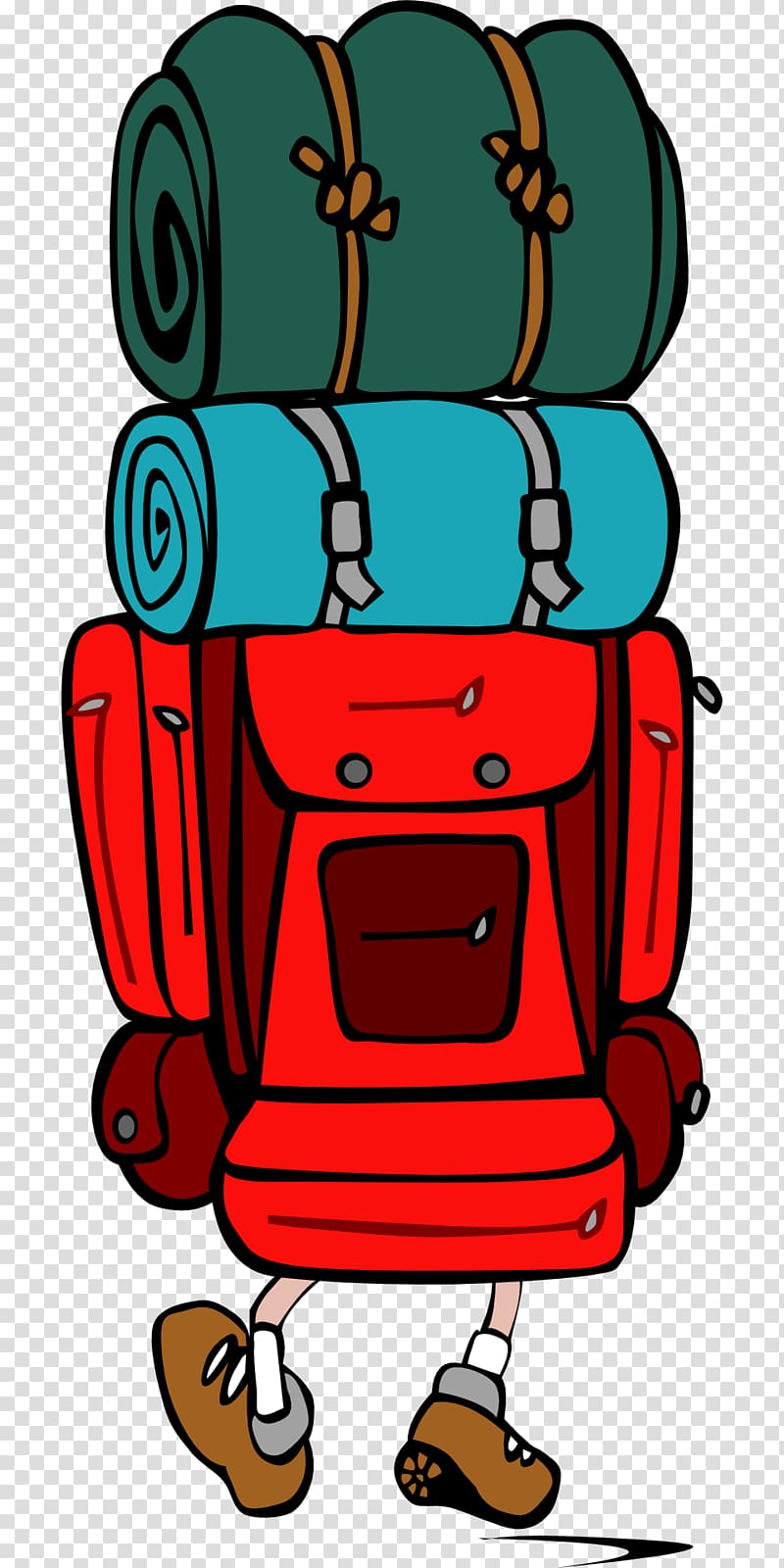 Backpacking Hiking , luggage transparent background PNG clipart.