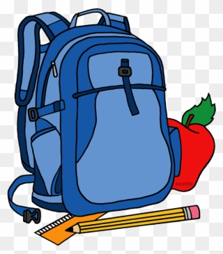 Free PNG School Backpacks Clip Art Download.
