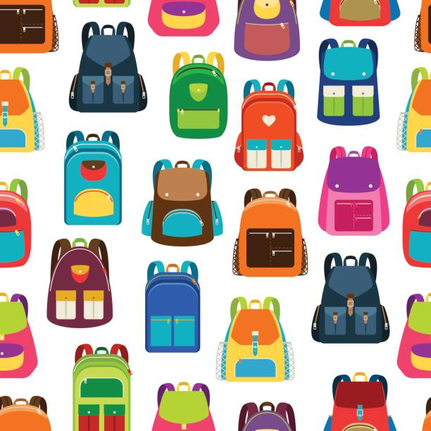 Best Backpack Illustrations, Royalty.
