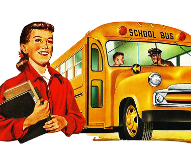 Hubley School Bus.