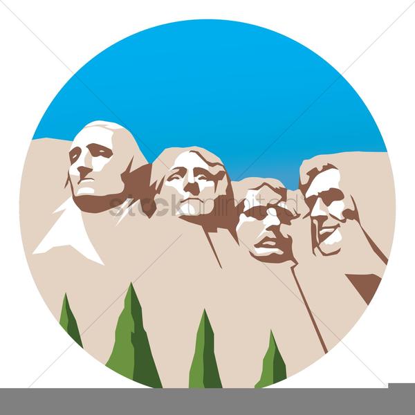 Clipart Mt Rushmore.