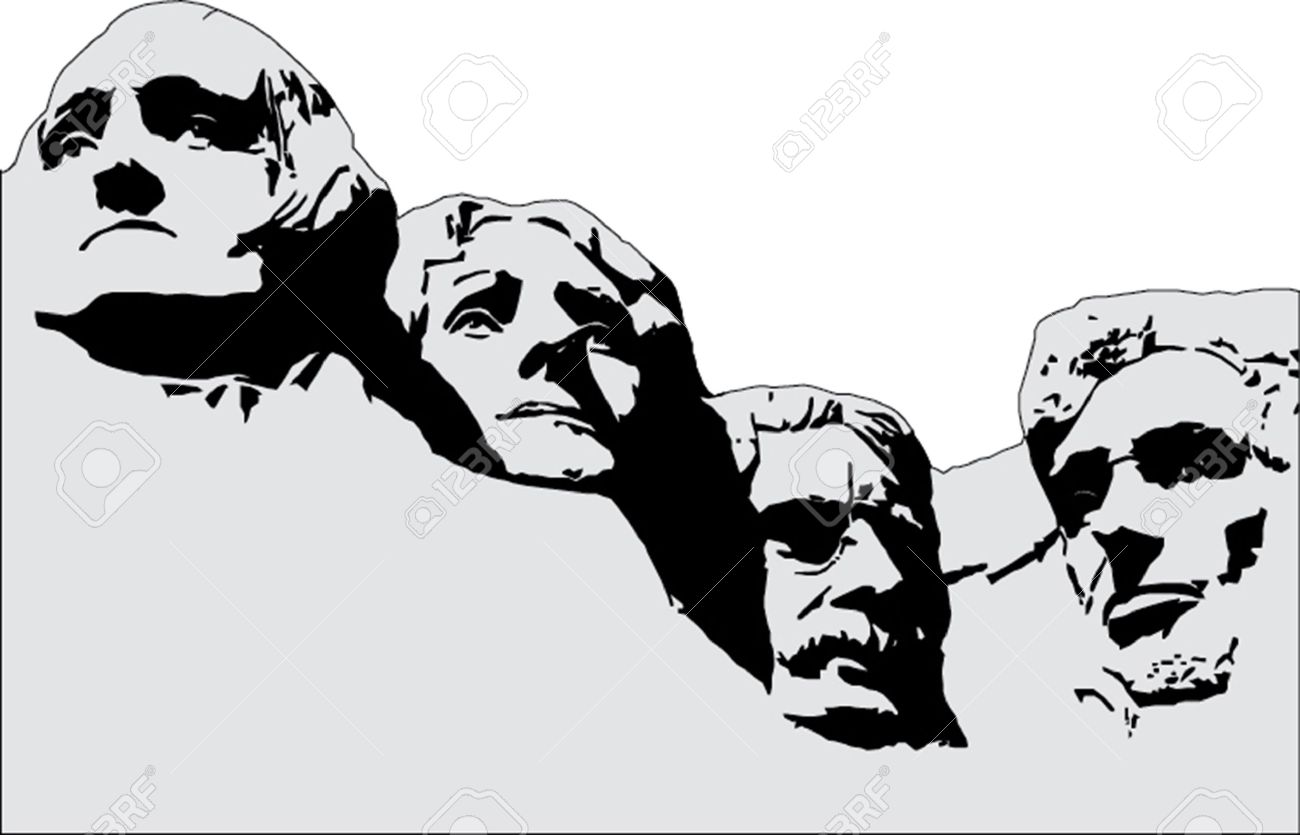 Clipart mt rushmore 3 » Clipart Station.