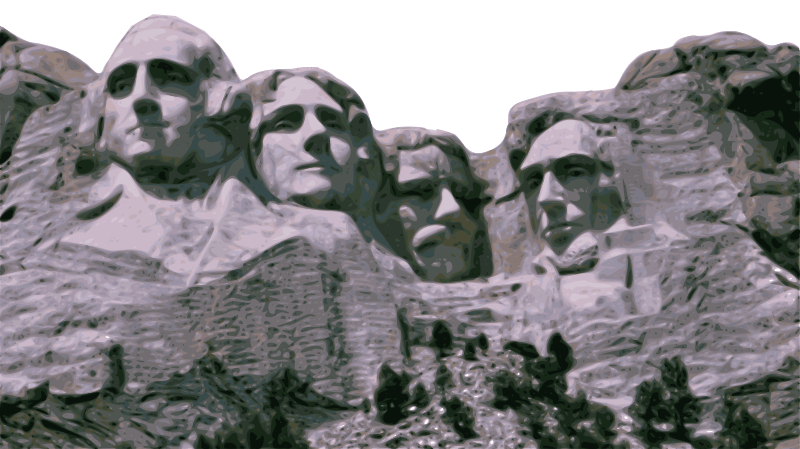 Free Clipart: Mount Rushmore.