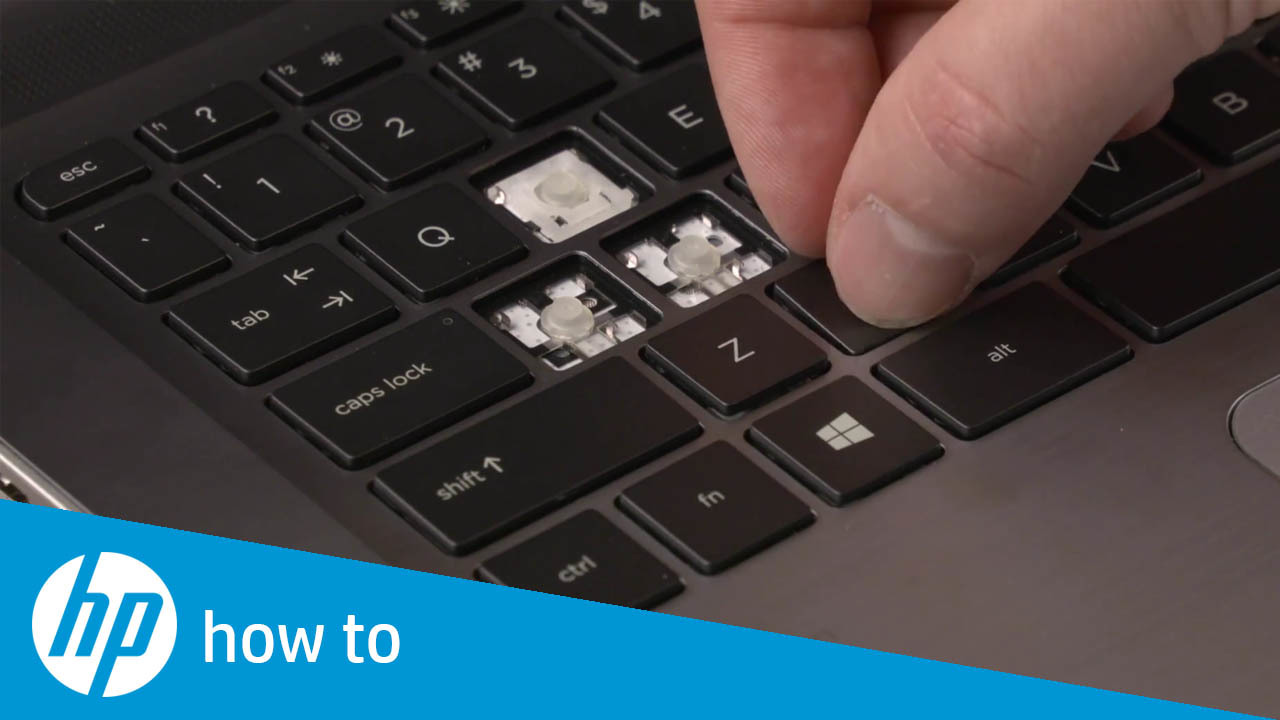 How to Fix Stuck Keys on HP Notebooks.