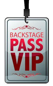 12 Best backstage pass images in 2018.