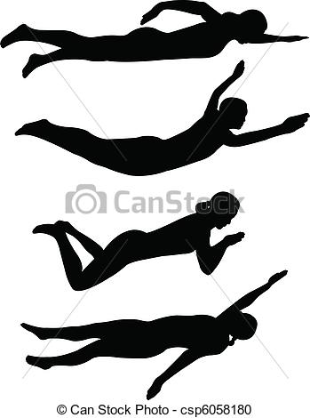 Backstroke Clipart and Stock Illustrations. 169 Backstroke vector.