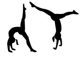 gymnastics back walkover.
