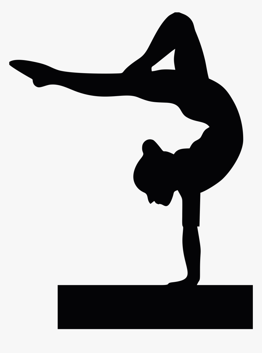 Gymnast Clipart Back Walkover.