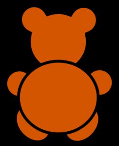 Backward Bear Clip Art at Clker.com.