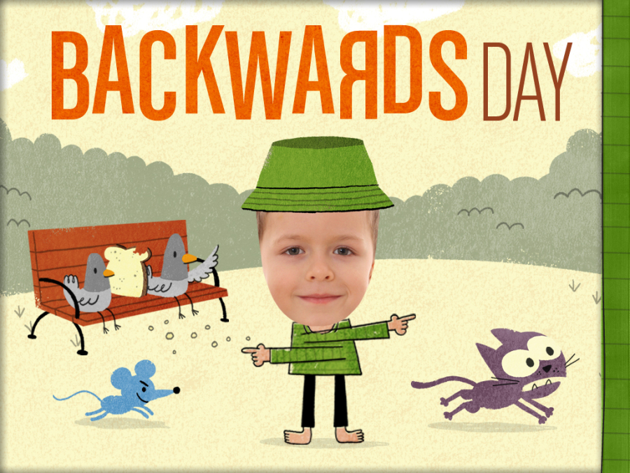 Backwards Day.