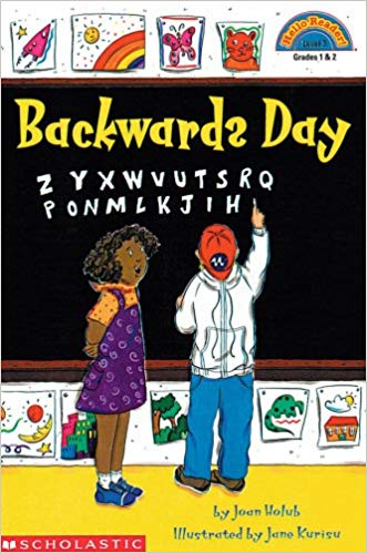 Amazon.com: Backwards Day (Hello Reader Level 3.