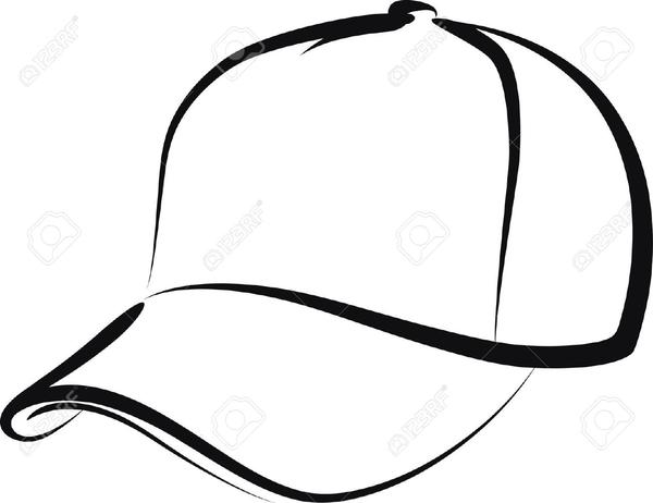 Free Backwards Baseball Cap Clipart.