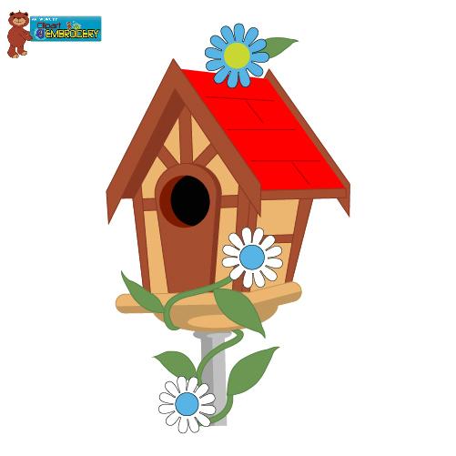 Clip Art Bird Home Clipart.