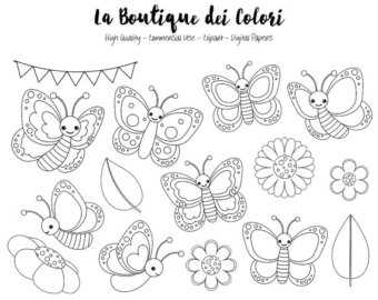 1345 Bugs free clipart.
