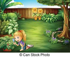 Backyard Clipart and Stock Illustrations. 2,640 Backyard vector.