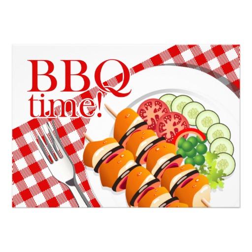BBQ Backyard Cookout Summer.
