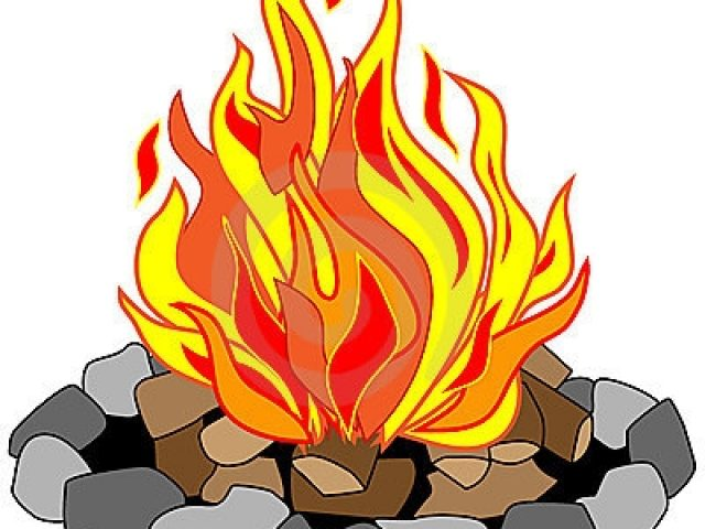 free clip art fire pit - photo #32