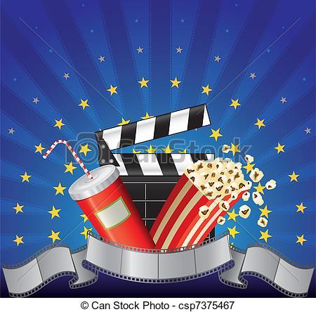 904 Movie Night free clipart.