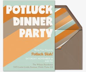 Free Potluck Invitations.
