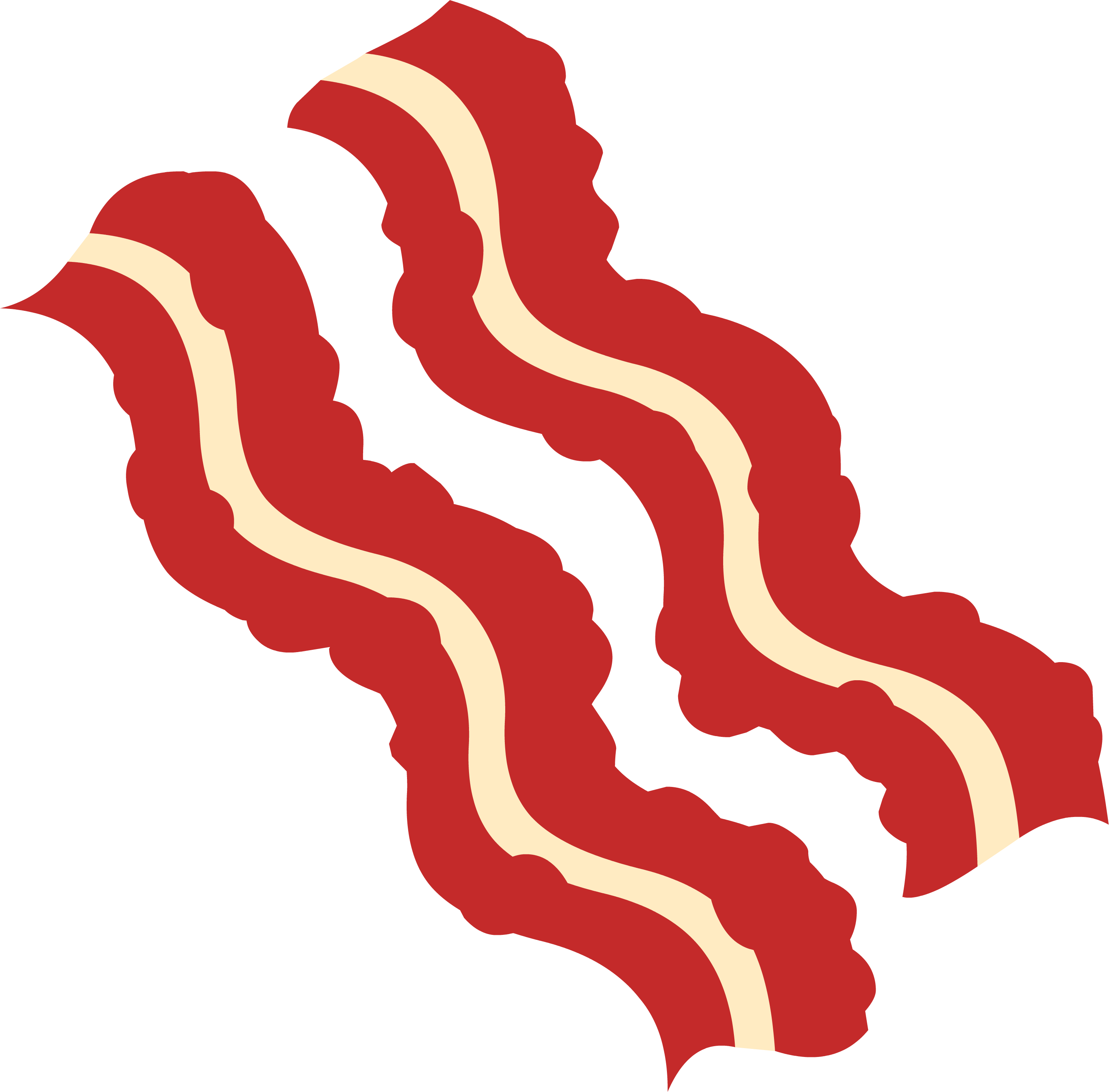 Download High Quality bacon clipart illustration Transparent.