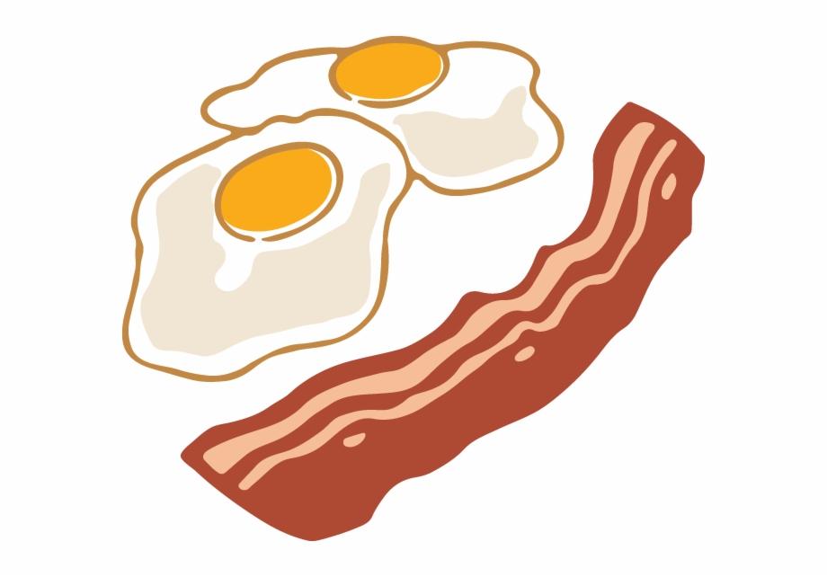 Vector Eps Clipart Bacon And Eggs Copyright Bacon.