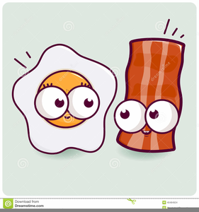 Free Clipart Bacon And Eggs.