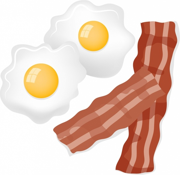 Bacon And Egg Clipart.