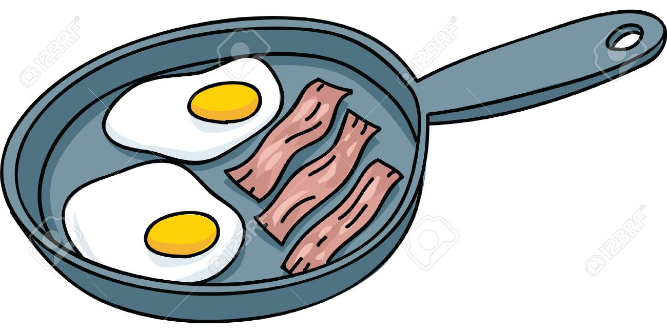 Bacon And Eggs Clipart.