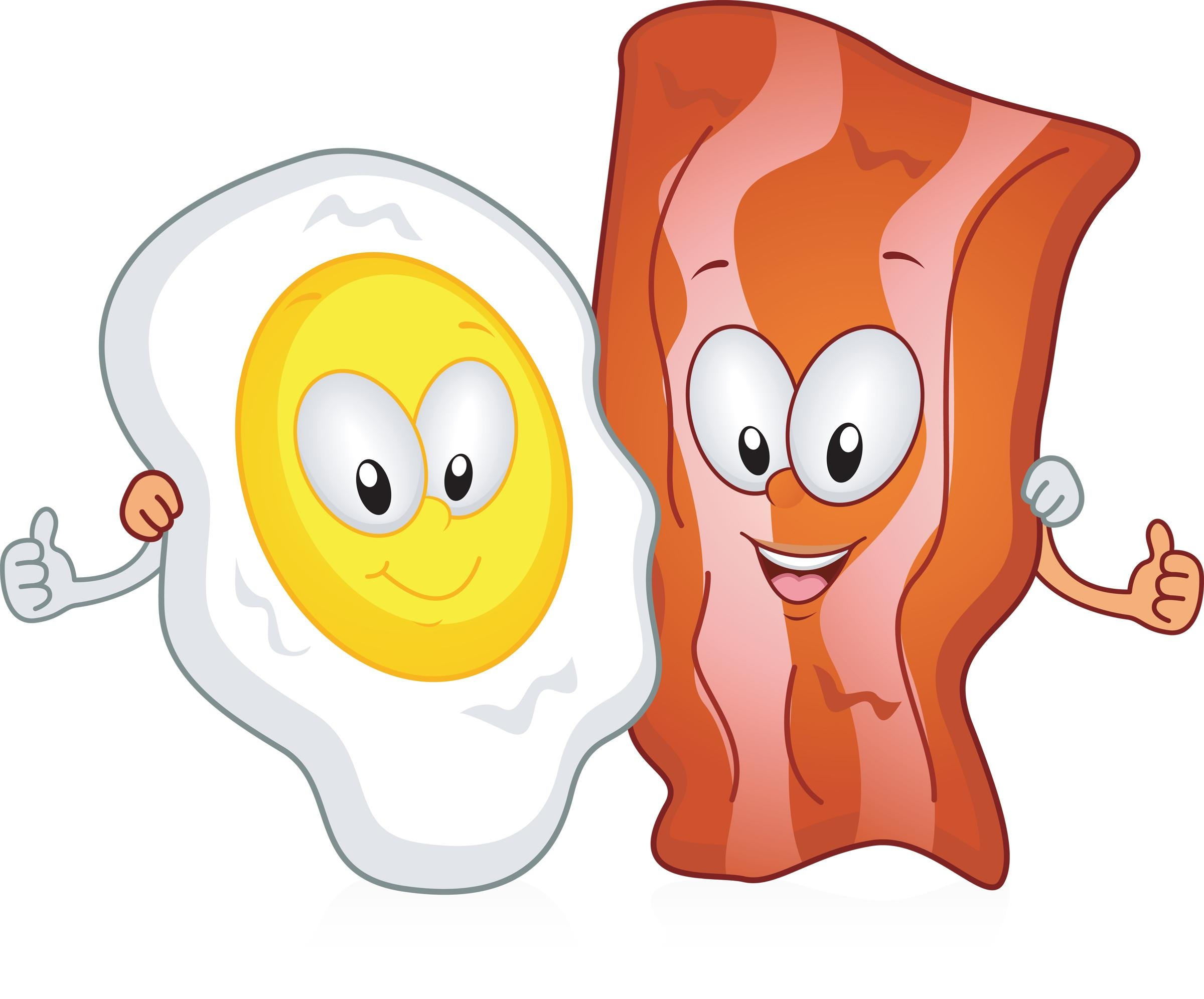 Bacon clipart bacon egg, Bacon bacon egg Transparent FREE.