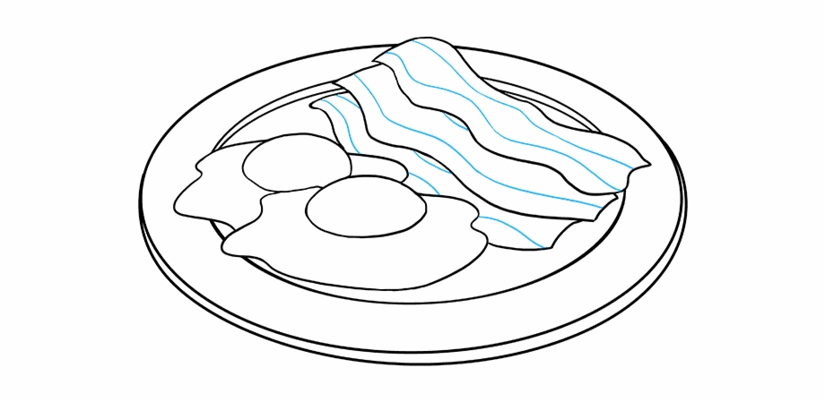 Free Bacon Clipart Black And White, Download Free Clip Art.
