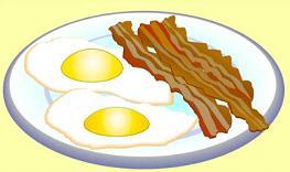 Free Bacon Clipart.