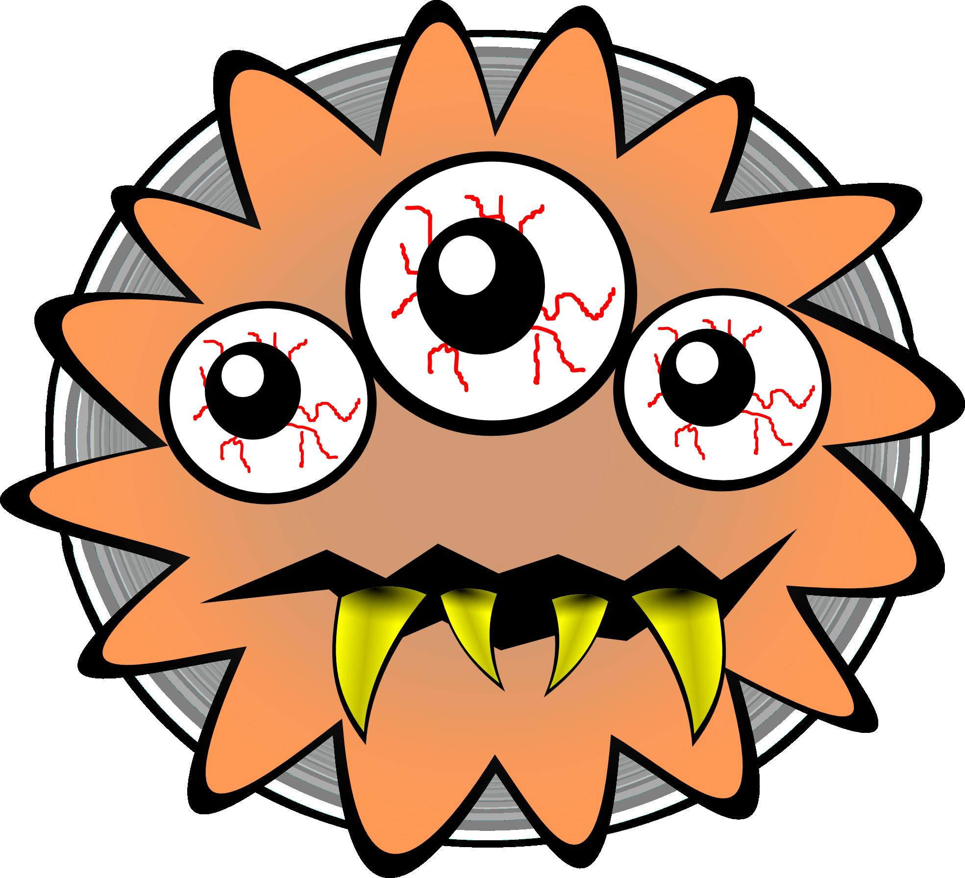 Bacteria Clipart.