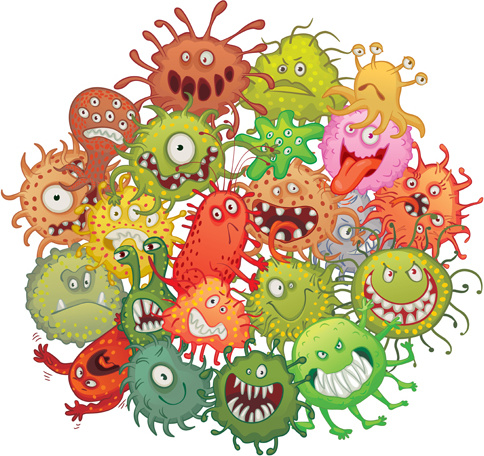 bacteria clipart clipground germs clip art for bulletin boards germs clip art purple