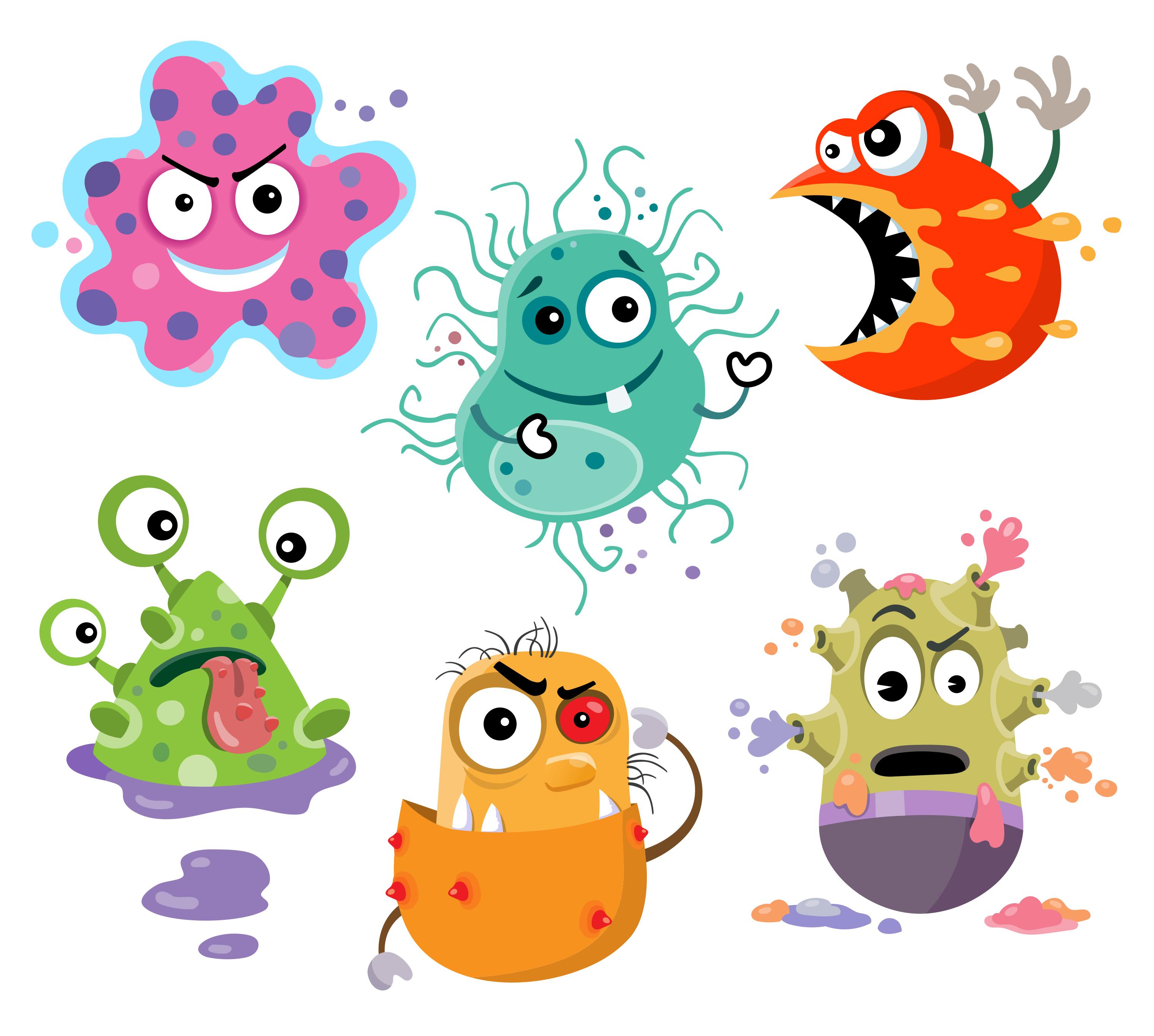 Cell clipart bacterial cell, Cell bacterial cell Transparent.
