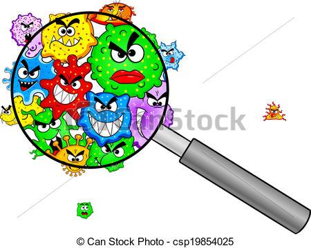 Microorganisms clipart