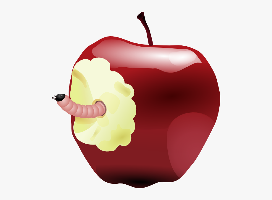 Bad Apple Clipart.