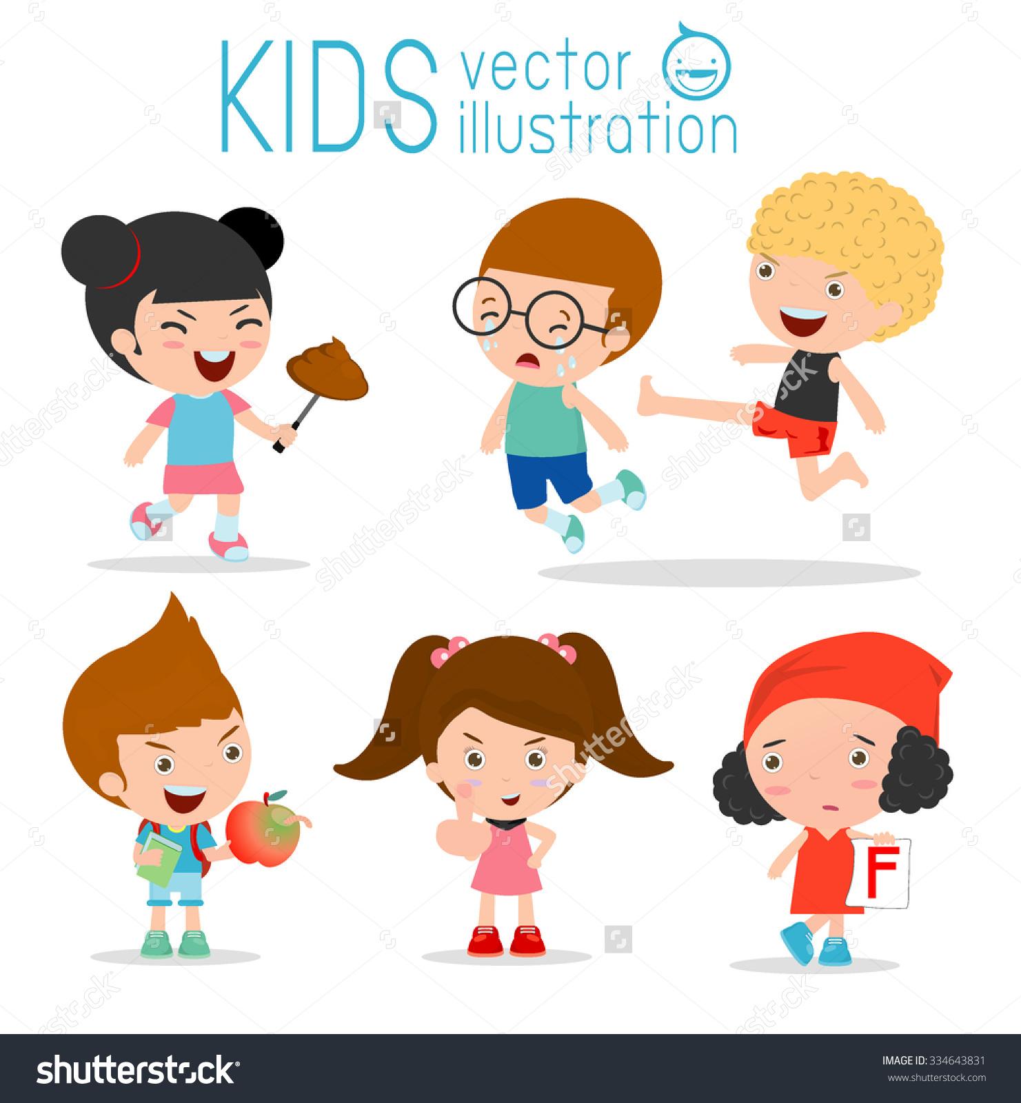Bad Child Behavior,bad kids.