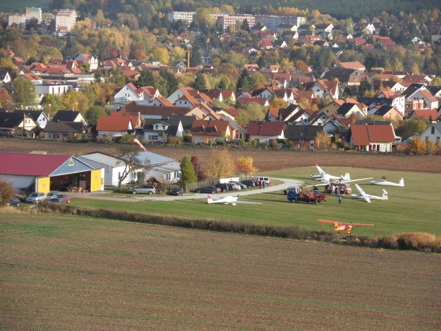 Free Photos: Airfield Bad Berka, Germany.