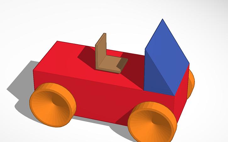 3D design the bad car.