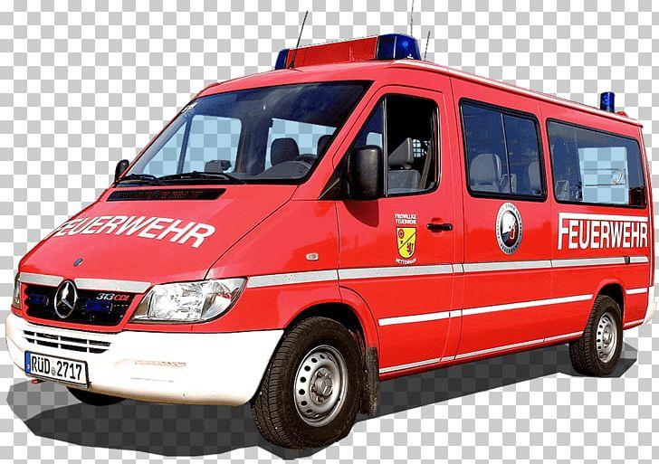 Ambulance Bad Schwalbach Mannschaftstransportwagen Fire Department.