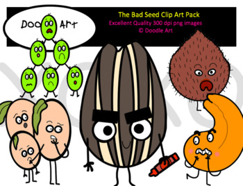 The Bad Seed Clip Art Pack.