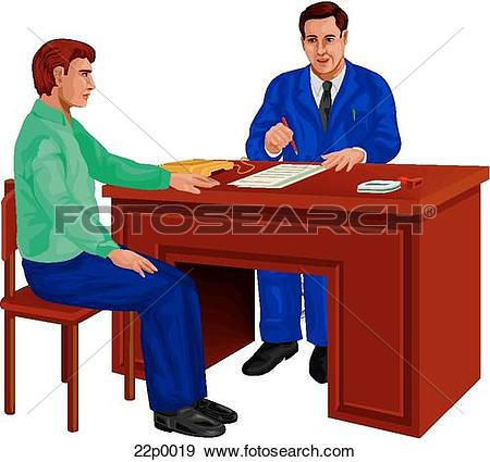 Clipart of on parole.