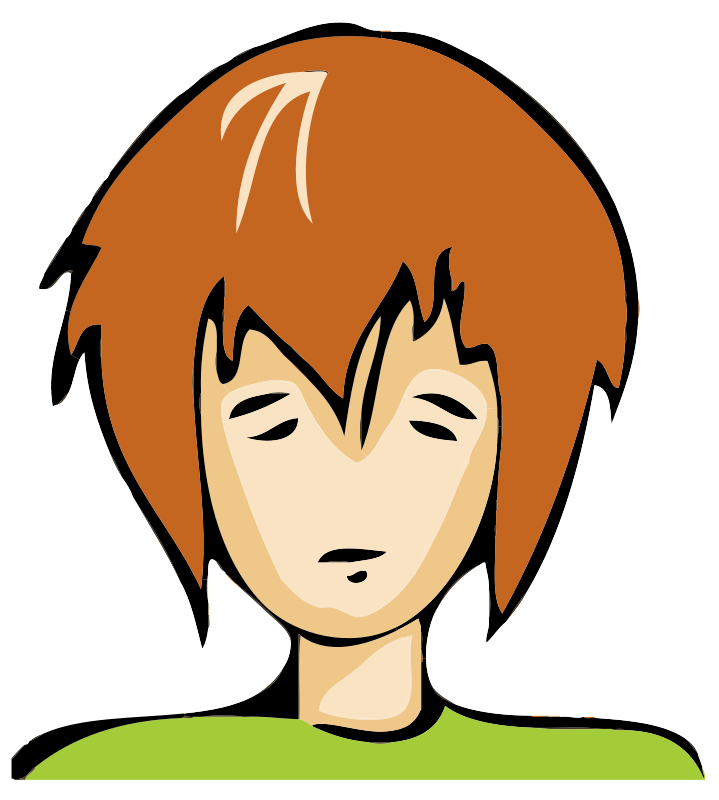 Free Clipart: Bad Day Avatar.